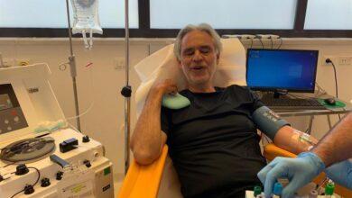 Photo of Bocelli dona su plasma para investigación tras tener coronavirus.
