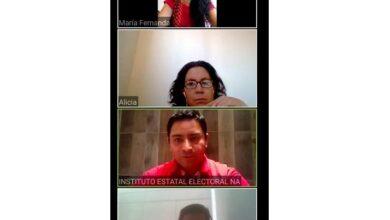 Photo of IEEH mantiene reuniones virtuales para el desarrollo del PREP.