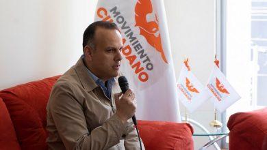 Photo of En entrevista Pablo Gómez, coordinador de Movimiento Ciudadano en Hidalgo.