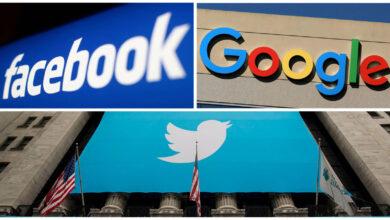 Photo of Twitter, Facebook y Google ganan apelación sobre supuesta conspiración para quitar publicaciones.
