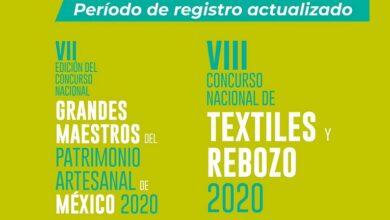 Photo of Anuncia Fonart cambios en los periodos de registro para los Concursos Nacionales de Arte Popular 2020.