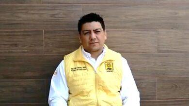 Photo of En entrevista Héctor Chávez Ruiz, presidente del PRD en Hidalgo.