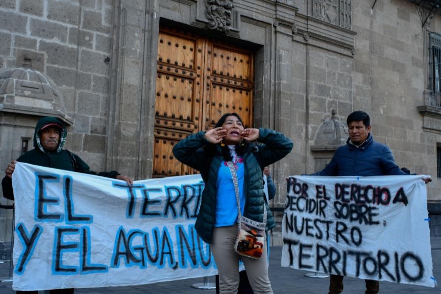 Photo of Ley Minera violenta el derecho de los pueblos indígenas a la autodeterminación sobre su territorio, denuncian pobladores.