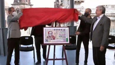Photo of Develan billete de lotería de Carlos Monsiváis, por el décimo aniversario de su muerte