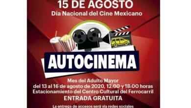 Photo of Ofrece Secretaría de Cultura Autocinema gratuito