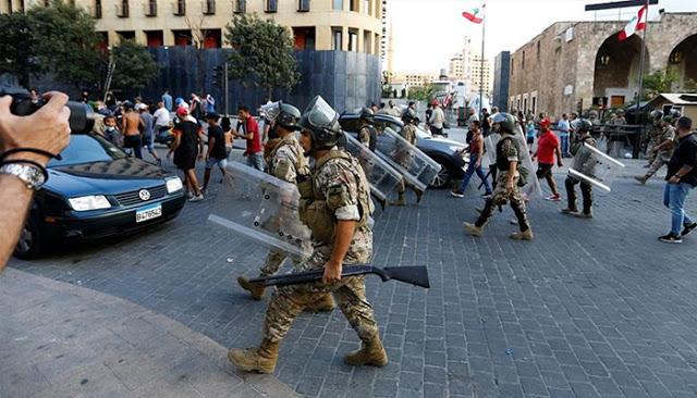 Otorga Líbano poderes amplios al Ejército - Cursor en la Noticia...