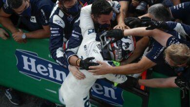 Photo of En insólita carrera, el francés Pierre Gasly se lleva el GP de Italia