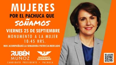 "Photo of Patricia Mercado estará en Pachuca conmemorando ""Día Naranja"""