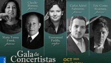 Photo of El Palacio de Bellas Artes reabre la Sala Principal con Gala de Concertistas de Bellas Artes