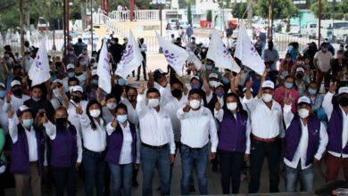 Photo of Inicia cierres de campaña Jorge Candelaria en Colonia Veracruz.