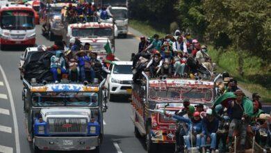 Photo of Miles de indígenas en Colombia exigen audiencia con Iván Duque