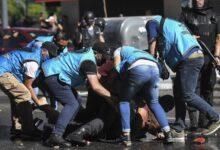 Photo of Fernández reitera su repudio a la represión en la Casa Rosada