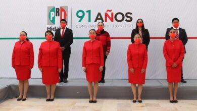 Photo of PRI Hidalgo realiza honores a la bandera en conmemoración del 110 Aniversario de la Revolución Mexicana