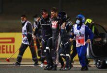 Photo of Se salva Romain Grosjean tras escalofriante choque
