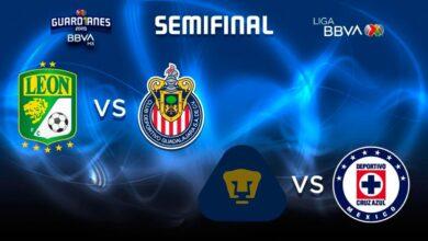 Photo of Semifinal Pumas-Cruz Azul en jueves y domingo