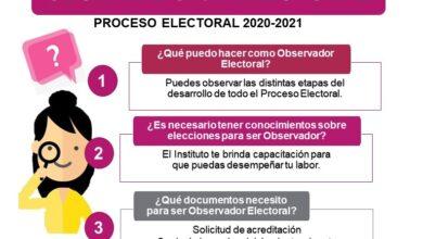 Photo of Convoca INE Hidalgo a participar en la Observación Electoral