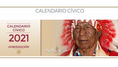 Photo of Calendario Cívico 2021 refrenda compromiso con los pueblos originarios y afromexicanos