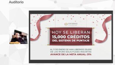 Photo of Libera FOVISSSTE 15 mil créditos más del Sistema de Puntaje 2021