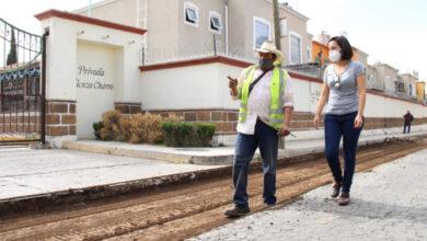 Photo of Supervisa obras la Presidenta Municipal de Tizayuca