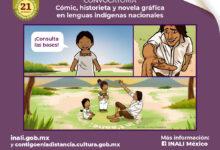 Photo of INALI lanza la convocatoria de cómic, historieta y novela gráfica en lenguas indígenas